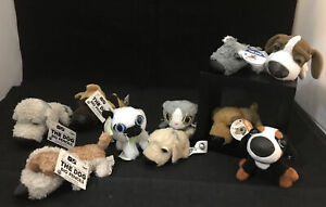 McDonald's Artlist Collection The Dog Cat Plush Lot Toys Happy Meal Pencil Top