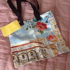 Damas Bolso de hombro Bolso grande pictórica/bolsos con decoraciones de lentejuelas BNWT