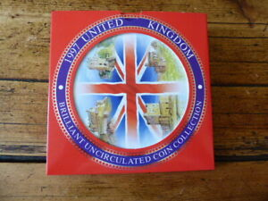 1997 UNITED KINGDOM BRILLIANT UNCIRCULATED COIN COLLECTION  - ROYAL MINT (PM)