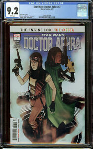 Star Wars: Doctor Aphra 7 (2021) CGC 9.2 WP - 1st Appearance of Wen Delphis