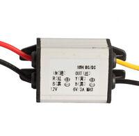 12V To 6V 3A 18W DC à DC étape module convertisseur régulateur chargeur auto