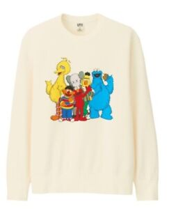 Uniqlo Kid  Kaws × Sesame Street 2019  Long  Swat 、Size150