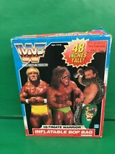 "wwf ultimate warrior ""Inflatable Bop Bag"" 1990 By Hasbro NRFB"