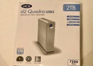External Hard Drive 2 TB , 7200 RPM , LaCie