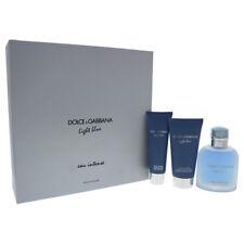 Dolce & Gabbana Light Blue Eau Intense Pour Homme 3pc Gift Set for Mens