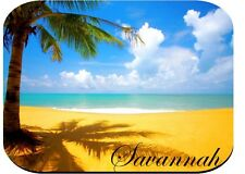 PERSONALIZED MOUSE PAD TROPICAL BEACH