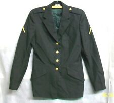 *XSPEC U.S. ARMY WOMAN's 2000 CLASSIC POLY/WOOL AG-489 FUSIBLE JACKET COAT- 10WT