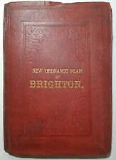 Treacher's New Ordnance Plan of Brighton 1890
