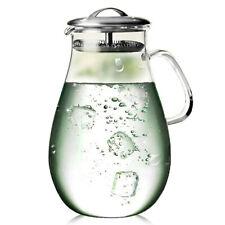 Artcome 65 Oz Heat Resistant Water Carafe Borosilicate Glass Beverage Pitcher