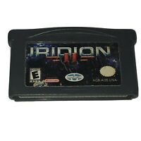 Iridion II TESTED Nintendo GameBoy Advance Game 2003 Authentic Fun Shooter