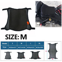 M Size Motorcycle Seat Cover Sunscreen Cool Cushion Breathable 3D Mesh Non-Slip
