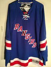 Reebok Premier NHL Jersey New York Rangers Team Blue sz 2X