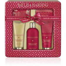 Baylis & Harding Midnight Fig & Pomegranate 5 Piece Beauty Gift Set in Tin