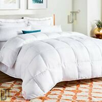13.5 Tog Luxury Duck Feather & Down Duvet Quilt / Pillow All Sizes Hotel Quality