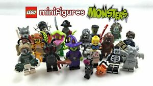LEGO Series 14 Monsters Minifigures Choose Your Figure Brand New Complete Sets
