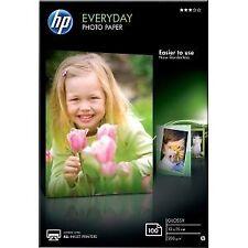 Hp papel fotografico satinado 10x15 100 hojas