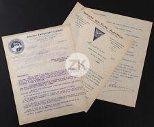 HELENE DARLY ERMOLIEFF Films ALBATROS Kamenka Bloch 2 LETTRES Signatures 1922/23