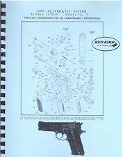 SMITH & WESSON Model 59 9MM Double Action PISTOL MANUAL HANDBOOK