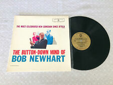 BOB NEWHART THE BUTTON-DOWN MIND OF GOLD LABEL MONO 1960 AUSTRALIAN PRESS LP