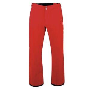 Mens Dare2b CERTIFY CODE RED Stretch Ski Pants S - XL SHORT LEG TROUSERS