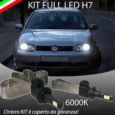 KIT LAMPADE ANABBAGLIANTI LED VOLKSWAGEN GOLF IV 4 LAMPADE LED H7 6000K NO ERROR
