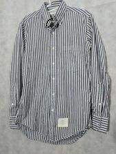 Thom Browne Pinstripe Button Up Shirt Size 1 Sample
