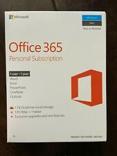 Microsoft Office 365 Personal (License & Software Assurance) (1 PC/Mac + tablet)