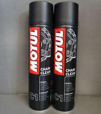 2 x MOTUL C1 Chain Clean Sprühreiniger für Motorradketten 400ml #
