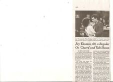 Jay Thomas 69 Obituary New York Times Actor Cheers Mork & Mindy Murphy Brown
