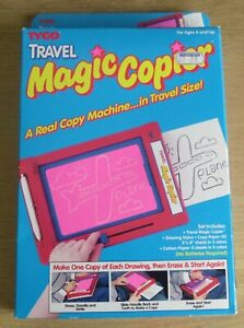 Vintage 1992 Tyco Travel Magic Copier Copy Machine