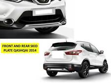 NISSAN QASHQAI 2014-2017 FRONT AND REAR SKID PLATES - YT-QS081