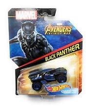 Hot Wheels Black Panther Character Cars Marvel Avengers Infinity War 2017 Mattel