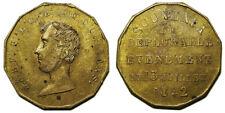 jeton mort du Duc d'Orléans, Souvenir Du Déplorable Événement Du 13 Juillet 1842