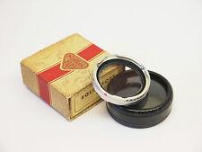 Rolleiflex rolleisoft o filtro con estuche y caja. u1385 Número de Stock