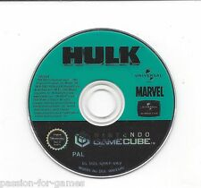 THE HULK for Gamecube - disc with manual
