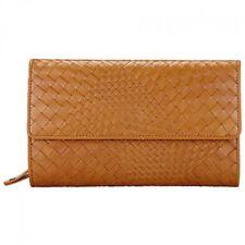JOHN LEWIS - BNWT - Leather Rosa Flap Over Tan Purse - Medium - HALF PRICE