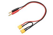 G-Force RC - Charge Lead - Serial - XT-60 - 14AWG Silicone Wire - 30cm - 1 pc