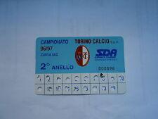 ABBONAMENTO TORINO CALCIO 1996-97