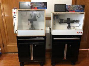 "Sherline 5400 CNC Milling Machine / Sherline 8"" CNC Lathe Workshop"