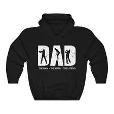 The Legend Golfer Dad Exercise Unisex Hoodie Golf Sport Hooded Sweatshirt