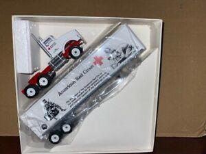 Winross 1/64 Red Cross Kenworth semi truck and trailer RARE