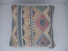 Beautiful faux silk  fabric pillow set of one