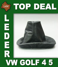 Gear Shift Stick Boot Cover Gaiter Genuine Lamb Leather For VW Golf 5