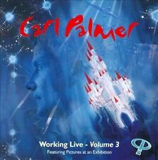 CARL PALMER - WORKING LIVE VOL.3 - CD - NEW