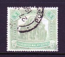 Malaya Federated States Scott 14 (SG# 23) Used $1 Elephant  Issue of 1900 |