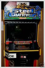 Steel Gunner Stand Up Video Arcade Game