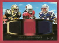 MARK INGRAM ROOKIE JERSEY CARD #d7/50 SHANE VEREEN RYAN WILLIAMS ALABAMA SAINTS