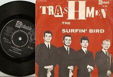 THE TRASHMEN SURFIN` BIRD & KING OF SURF DANISH SWEDISH 45+PS 1964 GARAGE MOD