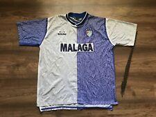 VINTAGE MALAGA SPAIN 1998/1999 'CHAMPIONS' HOME FOOTBALL SHIRT SOCCER KELME