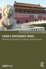 CHINA'S GOVERNANCE MODEL - LAI, HONGYI - NEW PAPERBACK BOOK